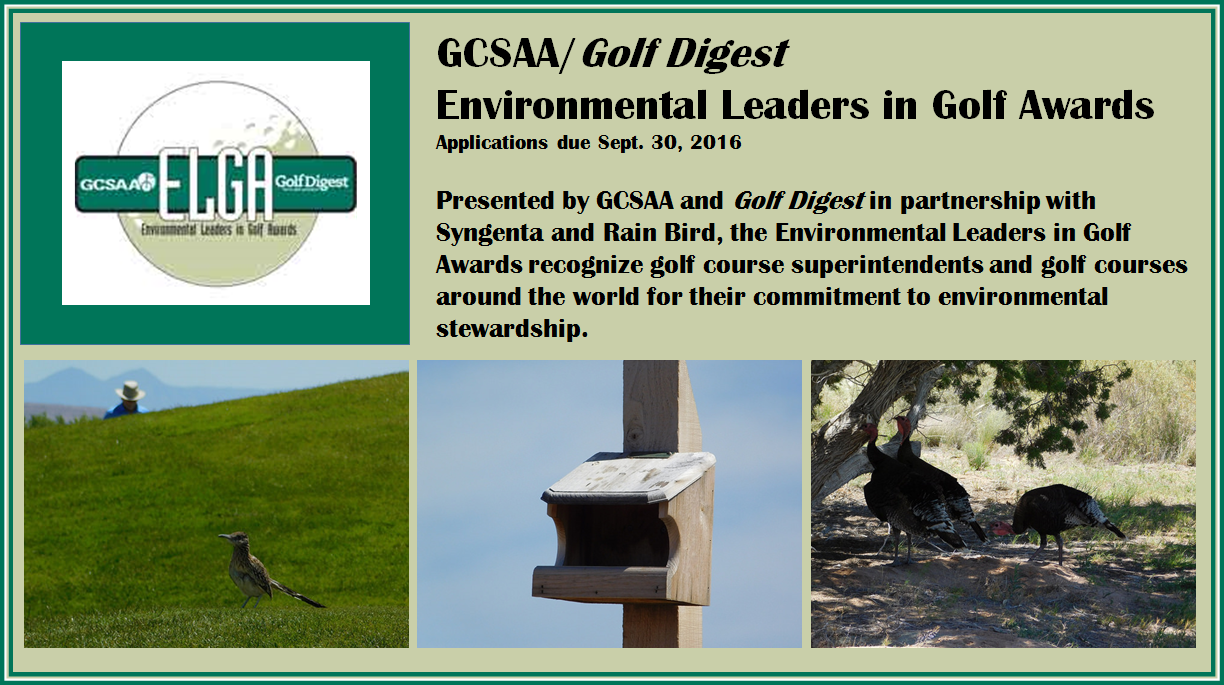 Environmental Leaders in Golf Awards - A great way to ...